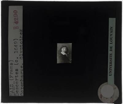 Frans Hals. Portret van René Descartes
