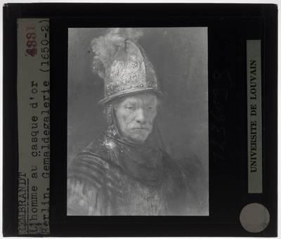 Rembrandt (atelier). De man met de gouden helm