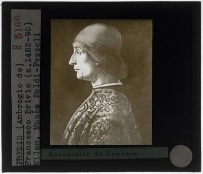 Vicenzo Foppa. Portret van Giovanni Francesco Brivio