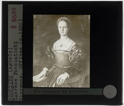 Agnolo Bronzino. Portret van Lucrezia Pucci Panciatichi