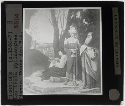 Giorgione. De drie filosofen