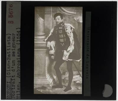 Giovanni Battista Moroni. Portret van een man (Michel de L'Hospital?)