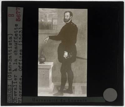 Giovanni Battista Moroni. Portret van Pietro Secco Suardo