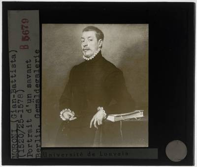 Giovanni Battista Moroni. Portret van een man