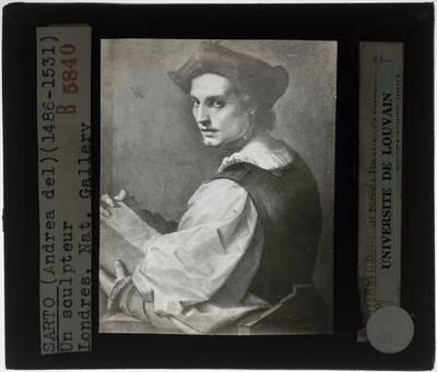 Andrea del Sarto. Portret van een jonge man