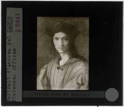Andrea del Sarto. Portret van Baccio Bandinelli