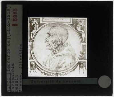 Anoniem. Portret van een oude man, 'Savonarola'