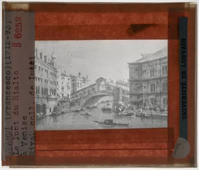 Francesco Guardi. De Rialto brug