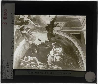 Il Guercino. Agostino Tassi. De nacht