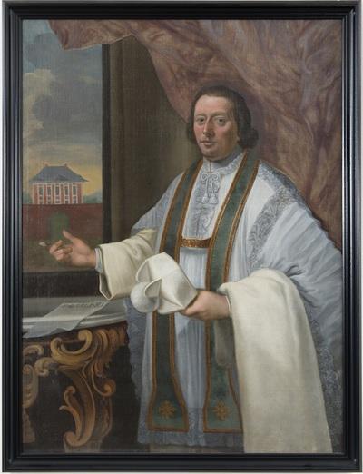 Portret van pastoor Bernardus Bossaert
