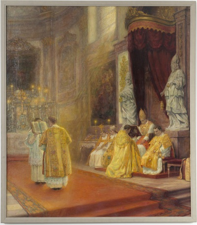 Pontificale hoogmis in de Abdij van Park