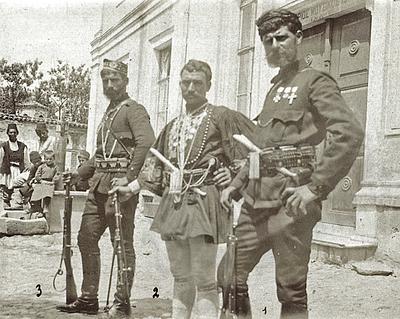 Greek chieftains in the Bitolya region