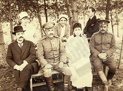 Dr Roza Belcheva with patients