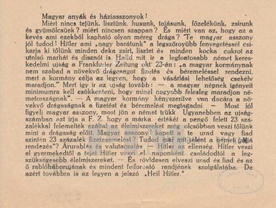 Magyar anyák és háziasszonyok!