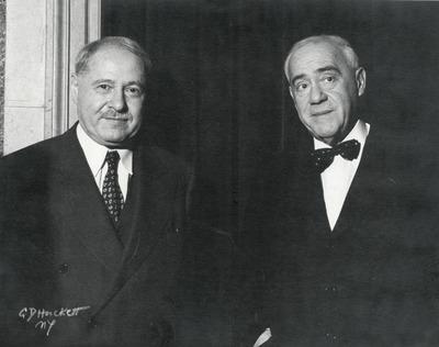 Molnár Ferenc és Dr. Szirmai Albert