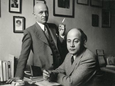 Kovács László és Tamási Áron