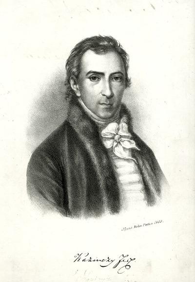 Kazinczy Ferenc portré
