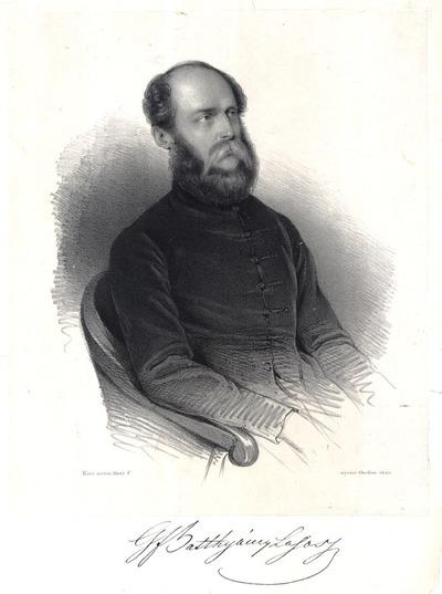 gr. Batthyány Lajos portréja