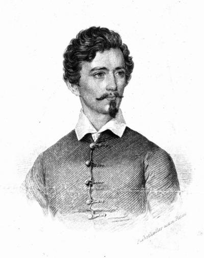Petőfi Sándor mellképe