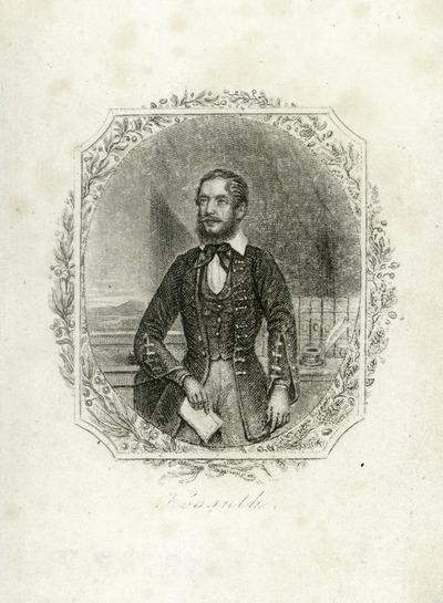 Kossuth Lajos (1802-1894) politikus portréja