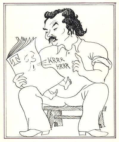 Lázár Ervin: Altatómese (karikatúra)