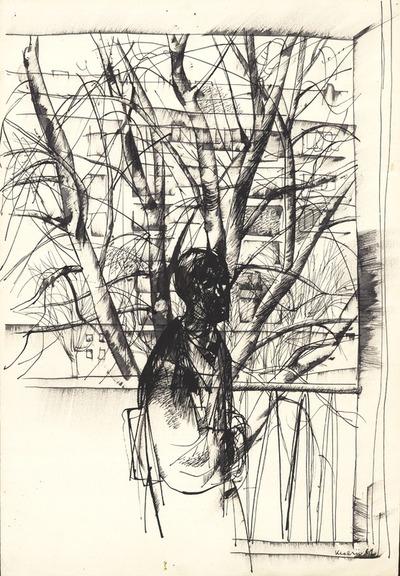 Vázlat festményhez (Író a Krisztinában) - Ottlik Géza