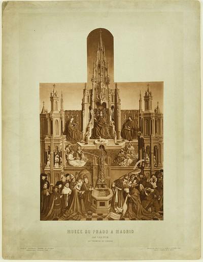Musée du Prado à Madrid - Jan van Eyck - Le Triomphe de l'Èglise