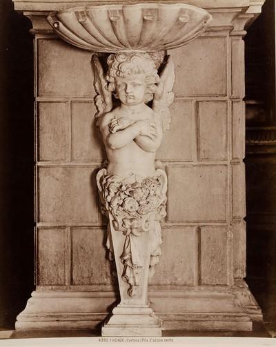 Firenze (Certosa) - Pila d'acqua santa