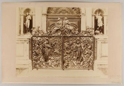 Venezia - Loggetta del Sansovino. Portelli in bronzo della Balaustrata. (Antonio Gai.)