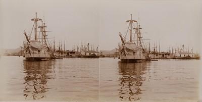 Im hohen Norden - Segelschiff vor Anker