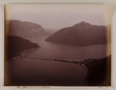 7049 Lugano. Panorama von S. Salvatore