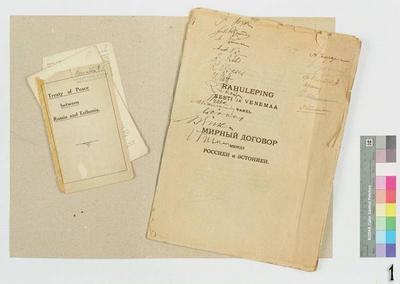 Peace treaty between Estonia and Russia, appendix: English version of the treaty