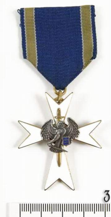 White cross of the National Defence League, III Class