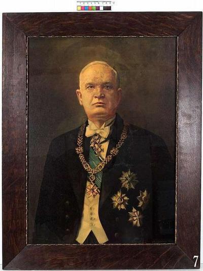 Portrait of Konstantin Päts