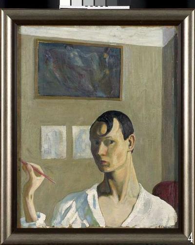 View of Tallinn / Self-Portrait