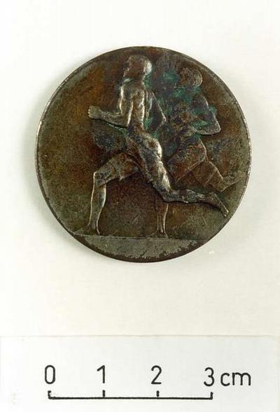 Medal, Second Prize of the sports contest of the 7th Infantry Regiment of the Estonian Defence Forces.