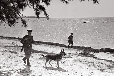 Soviet boarder guards