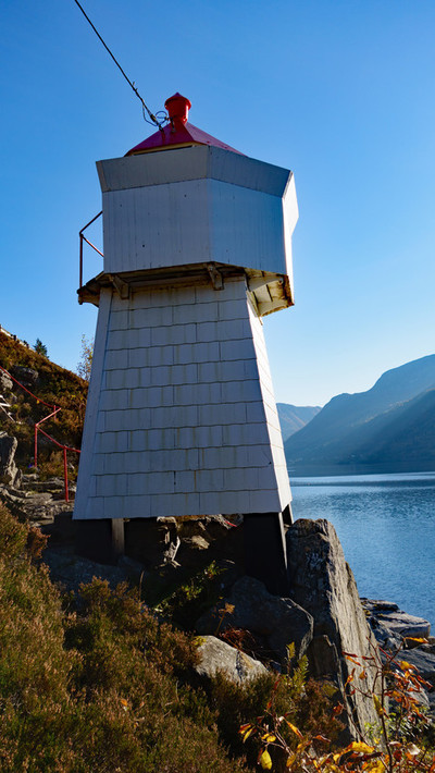Fyrlykt Syvdefjorden