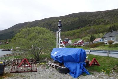 Lanterne og oljebud Ytre Gursken nedre