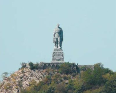 """Памятник Советской армии """"Алёша"""""""
