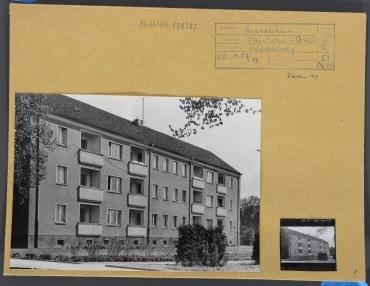 Ärztehäuser, Hofansicht. Berlin, Pankow, Röbellweg