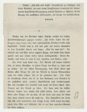 Notiz von Raoul Hausmann an Hannah Höch