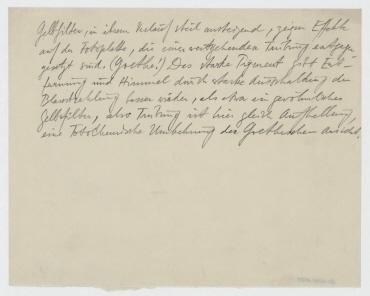 [Gelbfilter in ihrem Verlauf]. Anlage eines Briefentwurfs von Raoul Hausmann an Daniel Broido