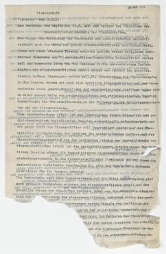 """""""Literatur """"Komsomolskaja Prawda vom 6.3.31. Auf der Rückseite: Wissenschaft """"Iswestia vom 18.3.31. Auszüge in deutscher Sprache"""