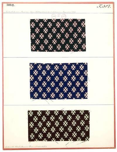 Gedruckte Schafwollwaare (Damenkleiderstoffe)