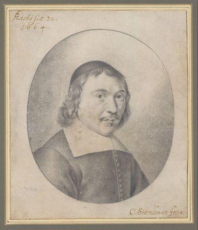 Selbstporträt, 30jährig mit dunklem Käppchen (Brustbild im Oval)