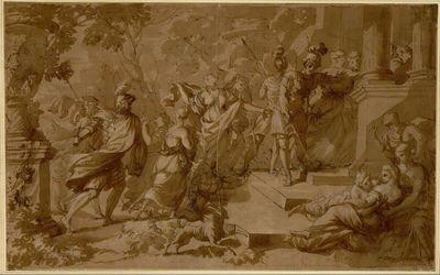 Der Frauenraub von Jabesch-Gilead oder von Schilo (?) (vgl. Richter 21,10-23)