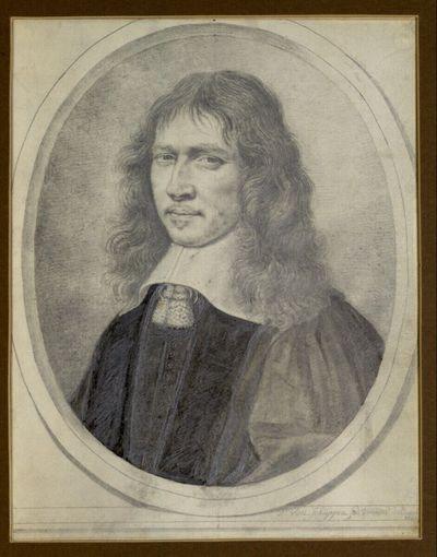 Der apostolische Pronotar Denis Talon (Brustbild im Oval)