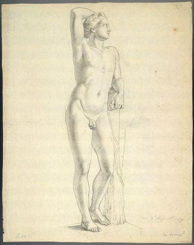 Statue eines Jünglings