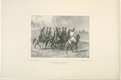 Escorte de cosaques de la ligne du Kouban, Taman, 11 Octobre 1837